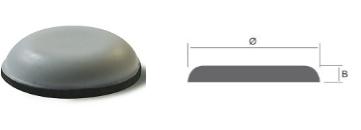 Scivoli in PTFE adesivi